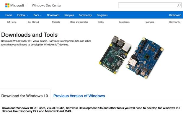 Windows 10 IoT Core 620