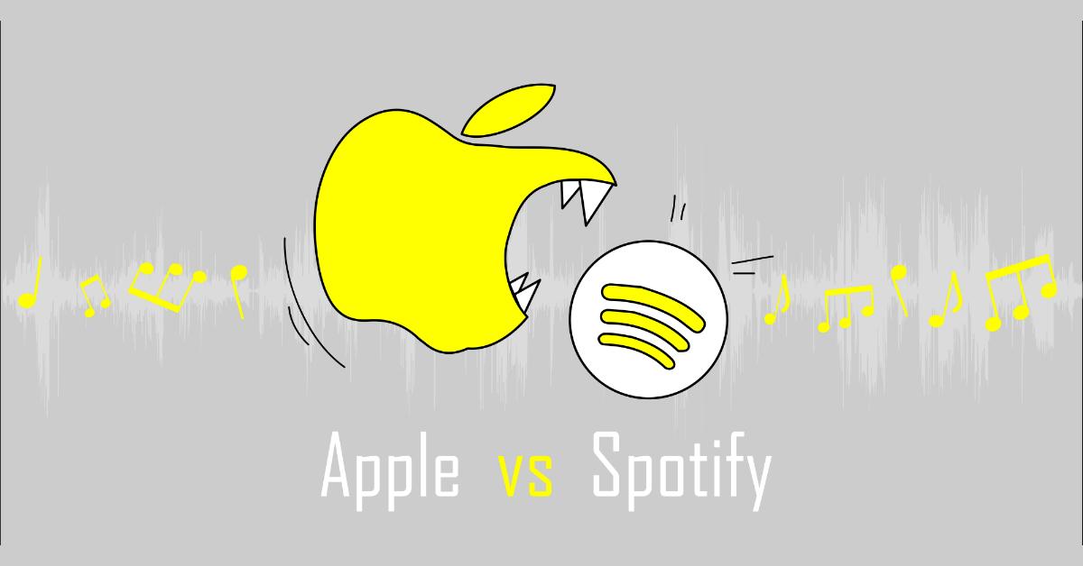 apple music contro spotify