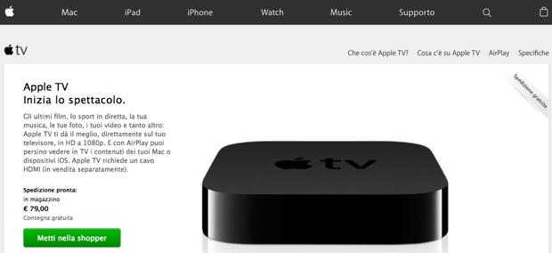 apple tv difettose 79 euro 620