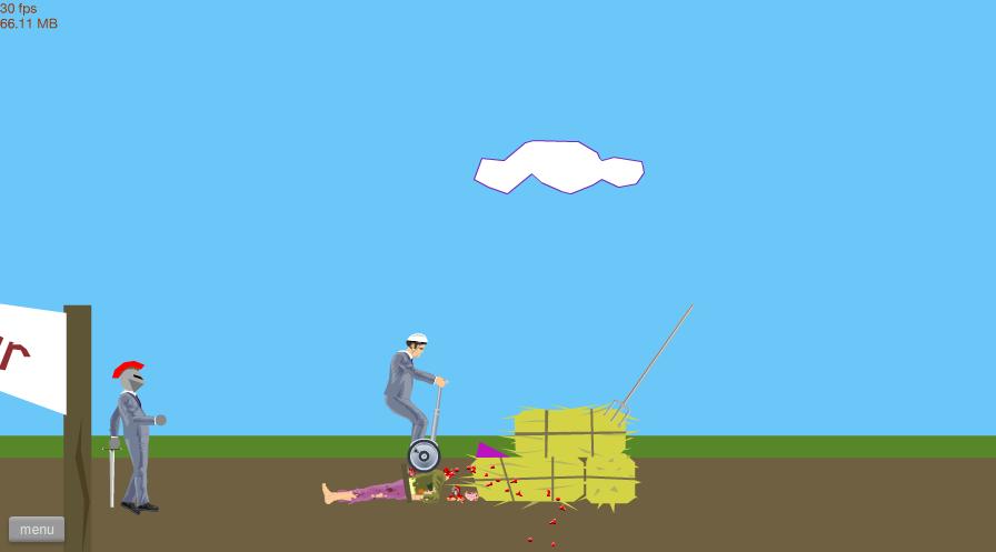 happy wheels schermata