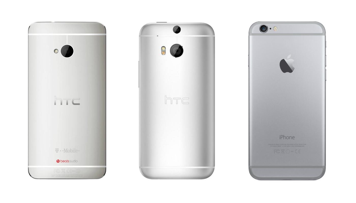 htc one m7 htc one m8 iphone 6