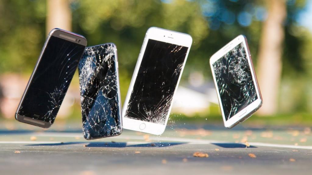 iphone scivola e cade