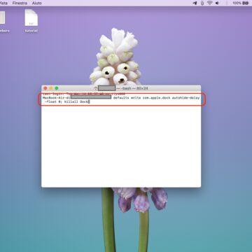 Come mostrare e nascondere il Dock del Mac senza ritardi