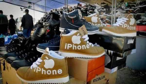 scarpe iphone