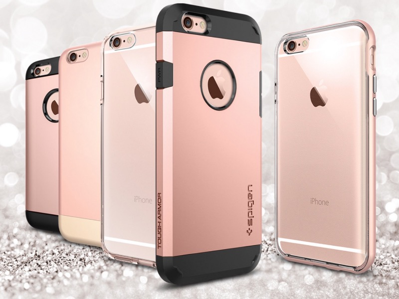 iPhone in oro-rosa