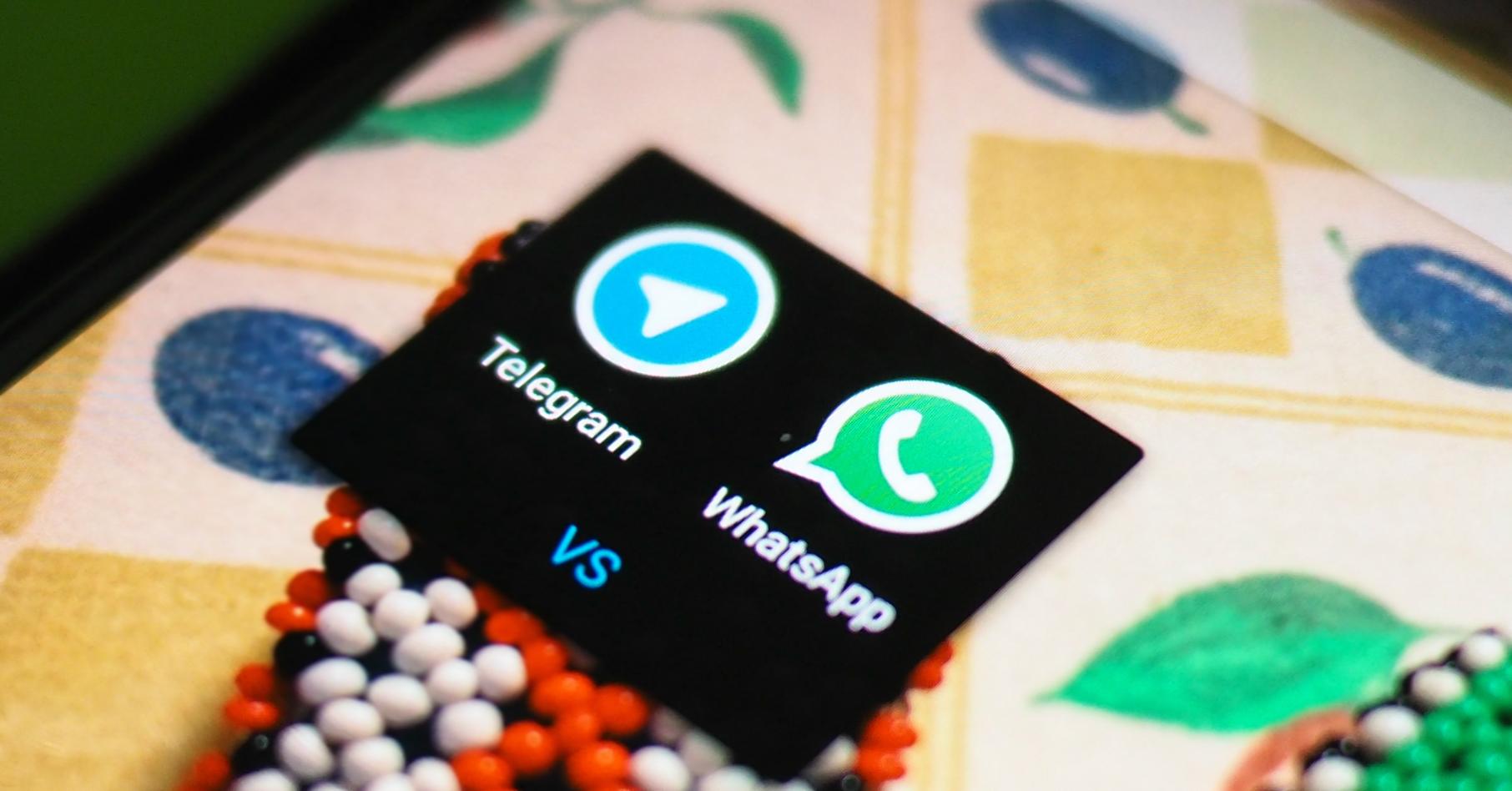 telegram contro whatsapp