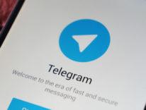 telegram schermata di registrazione