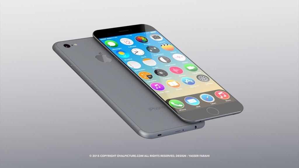 iphone 7 concept di Yasser Farahi di Oval Picture