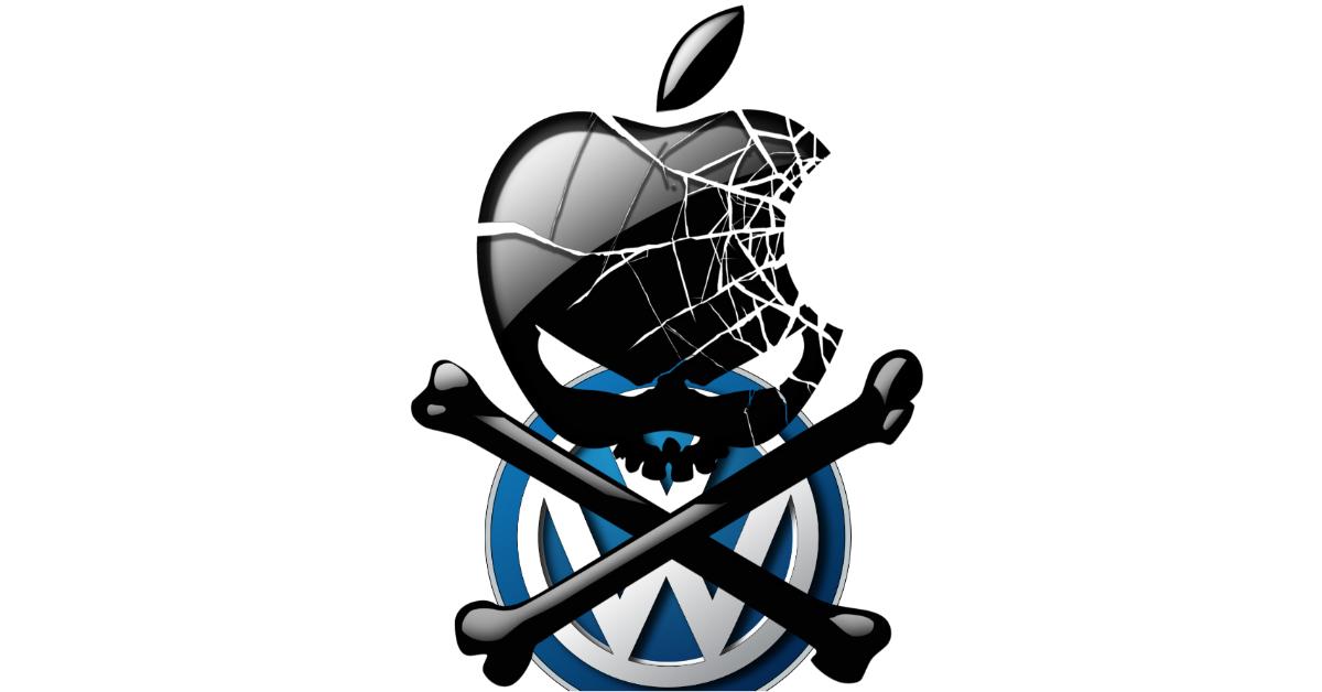 Dietro lo scandalo Volkswagen c'è Apple: è la tesi del giornalista Luca Telese