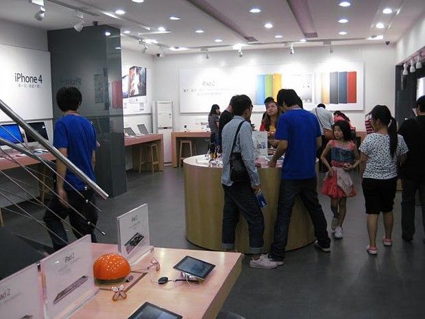 Uno dei tanti finti Apple Store in Cina