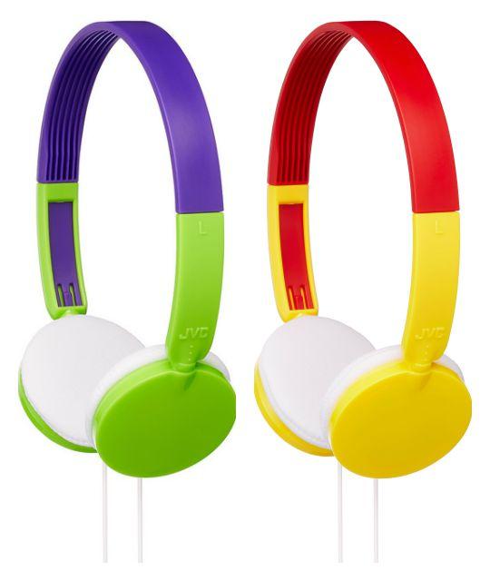 Jvc presenta un linea di cuffie e auricolari per bambini for Migliori cuffie antirumore per bambini