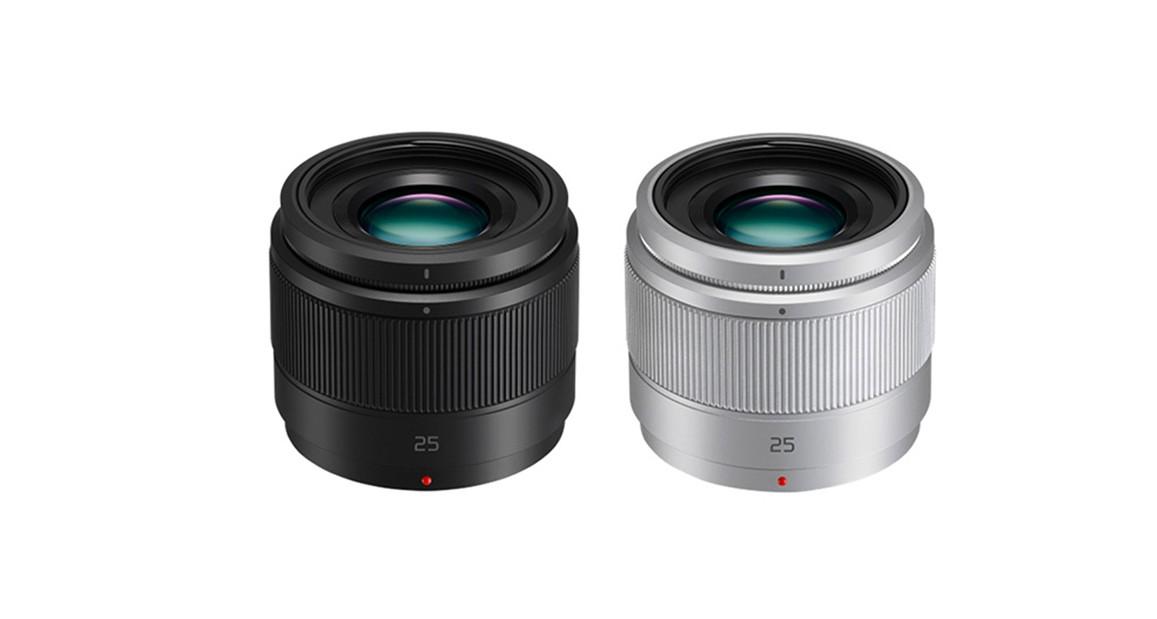 Lumix G 25mm f:1.7 ASPH nero e grigio