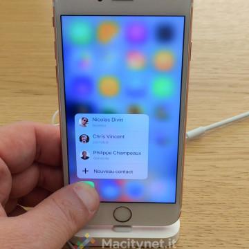 sensibile alla presssione Macitynet 2015 - IMG_9844 iPhone 6s oro-rosa