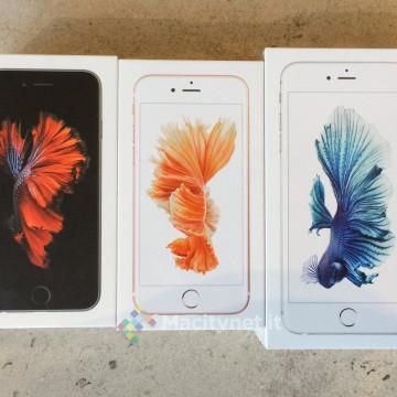 iPhone 6s appena presi