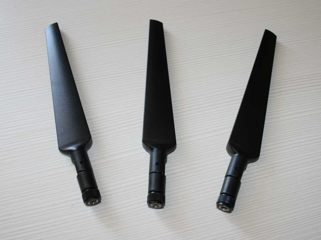 Le tre antenne di serie