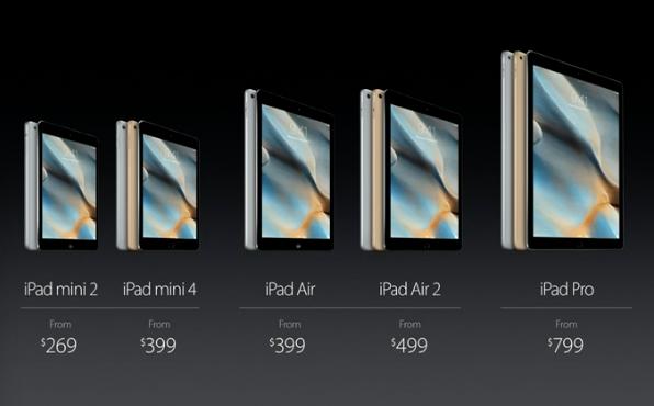 apple presenta ipad mini 4