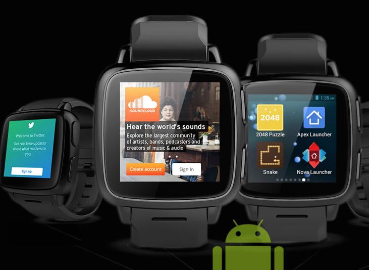 TrueSmart+ indossabile Android simile a Pebble che fa ...