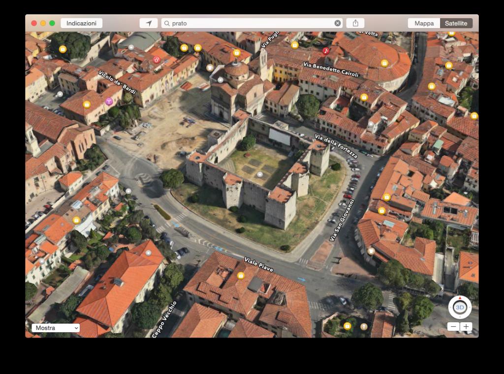 mappe apple 3d