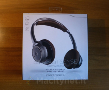 Unboxing Plantronics BackBeat Sense 1