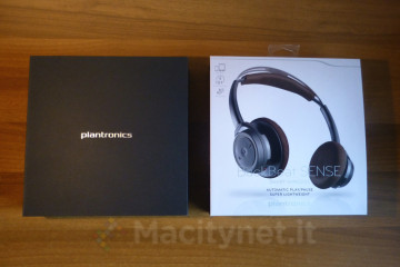 Unboxing Plantronics BackBeat Sense 2