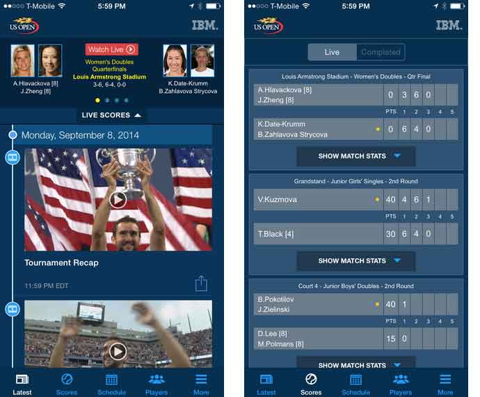 2015 US Open Tennis Championships