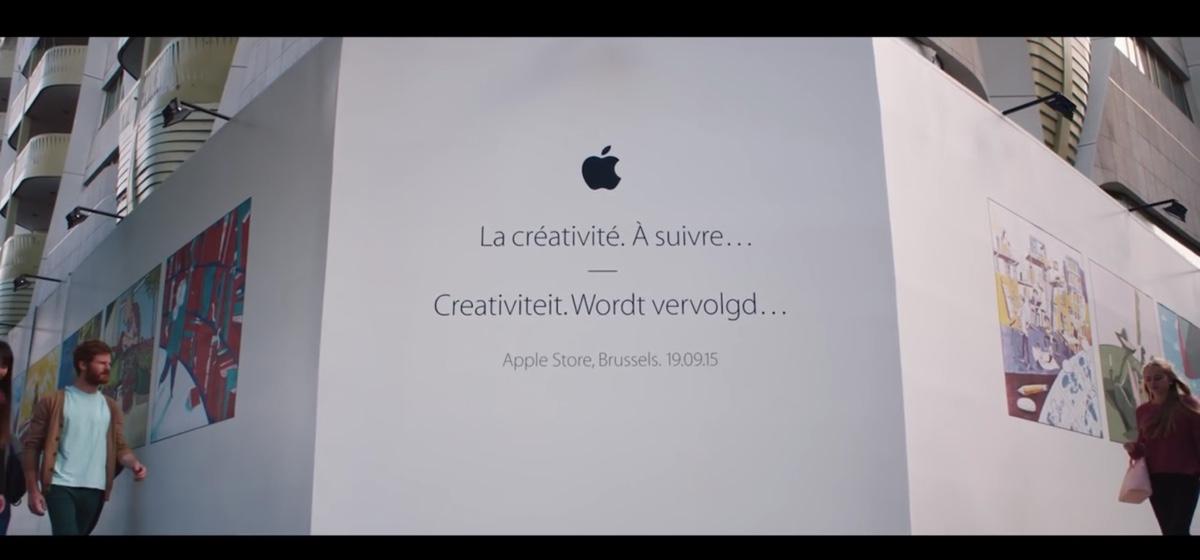 apple store di Bruxelles 1200