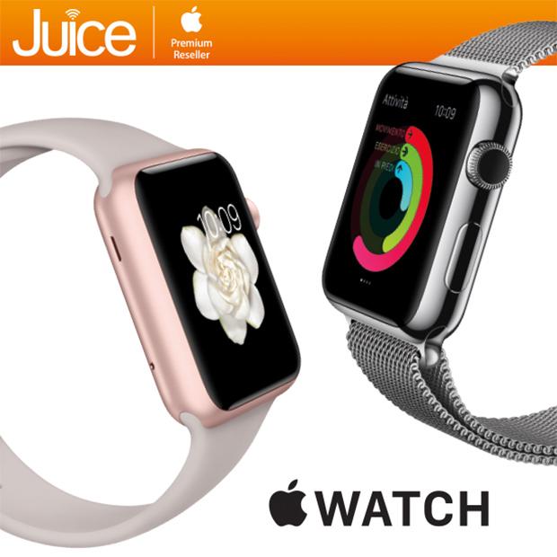 apple watch juice