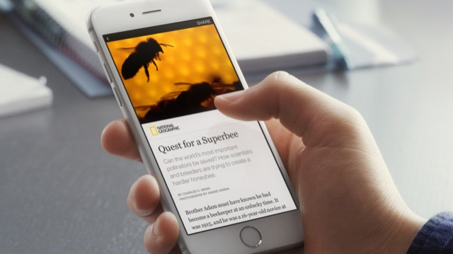 facebook instant articles su iphone