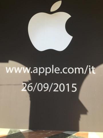 Apple Store Firenze apre il 26 Settembre 2015