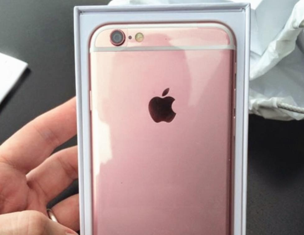 Iphone  Plus Oro Rosa