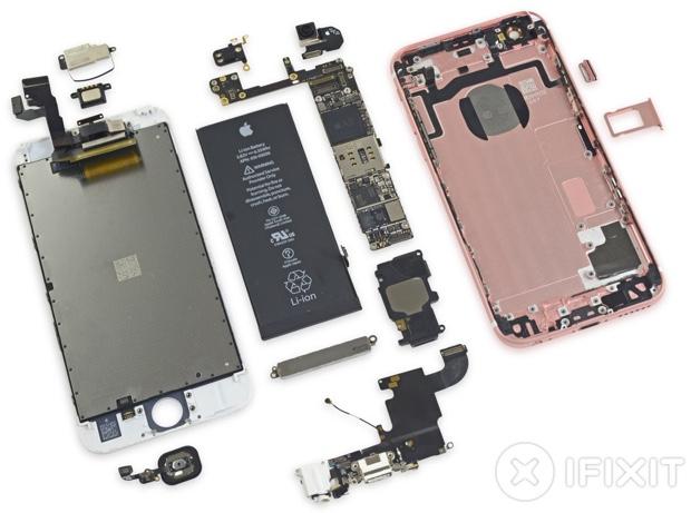 iPhone 6s smontato 2