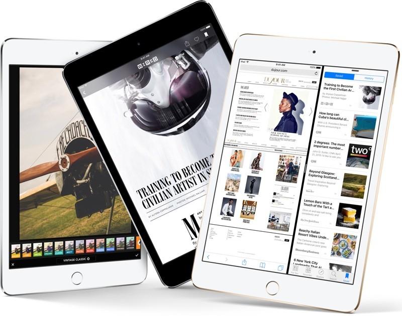 sei prodotti apple più vecchi, , foto iPad mini 4