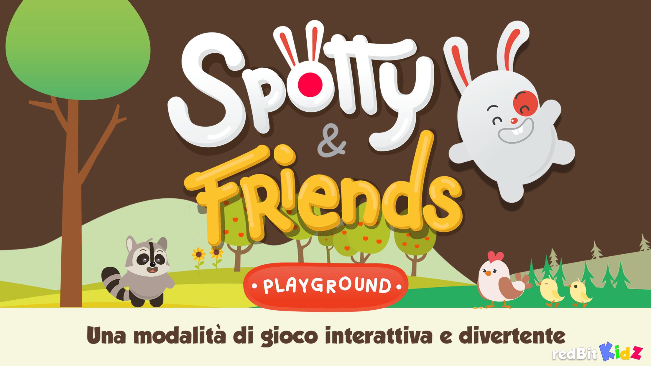 e22e145bc0 E' sullo Store Spotty & Friends, nuova app per bimbi da 2 a 5 anni ...