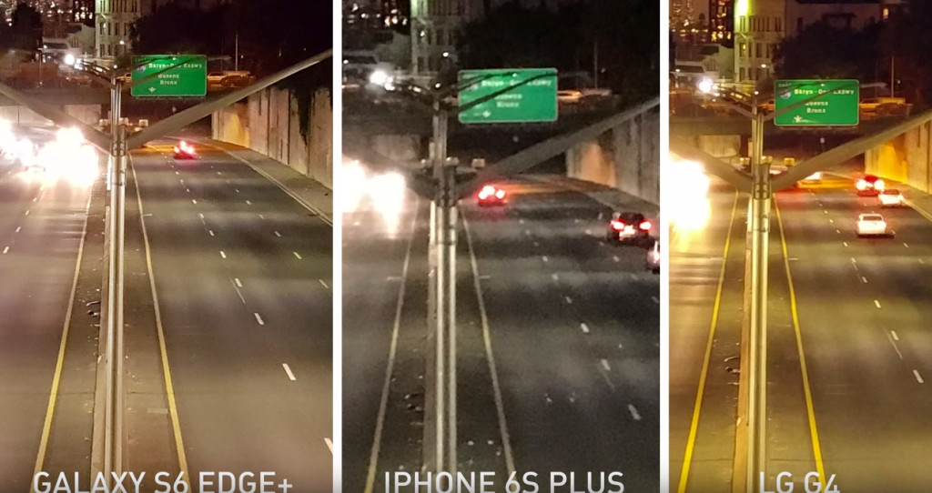 Nel paesaggio notturno i risultati sono tutti validi ma iPhone 6s pecca di dettagli