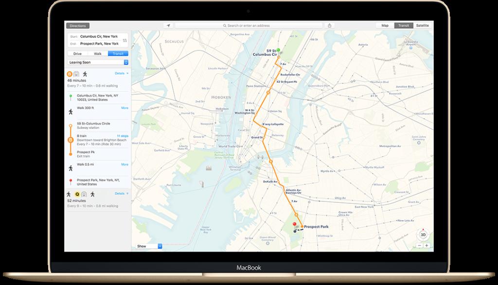 Mappe su OS X 10.11