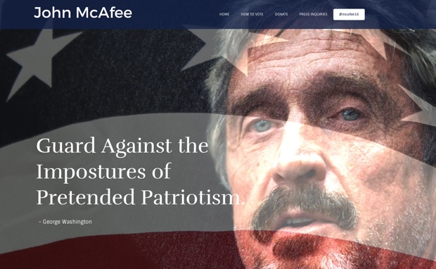mcafee for president 620
