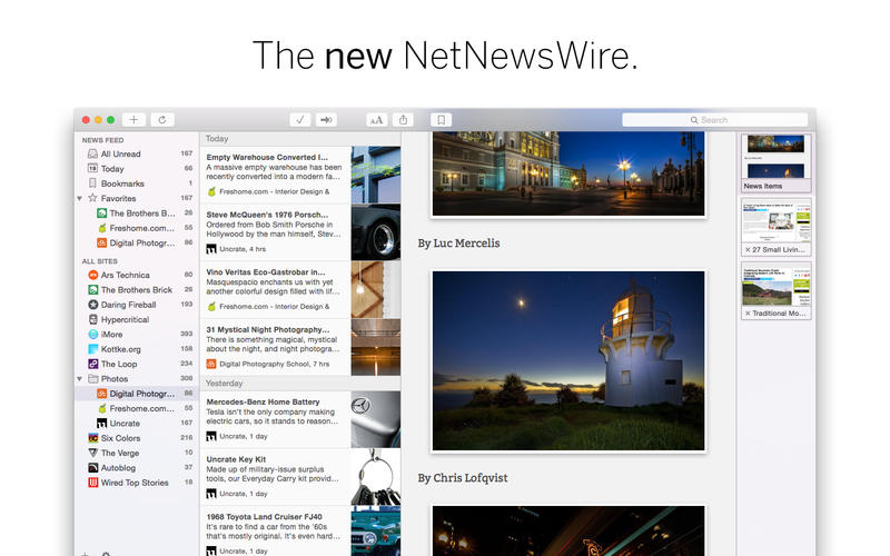 NetNewsWire 4