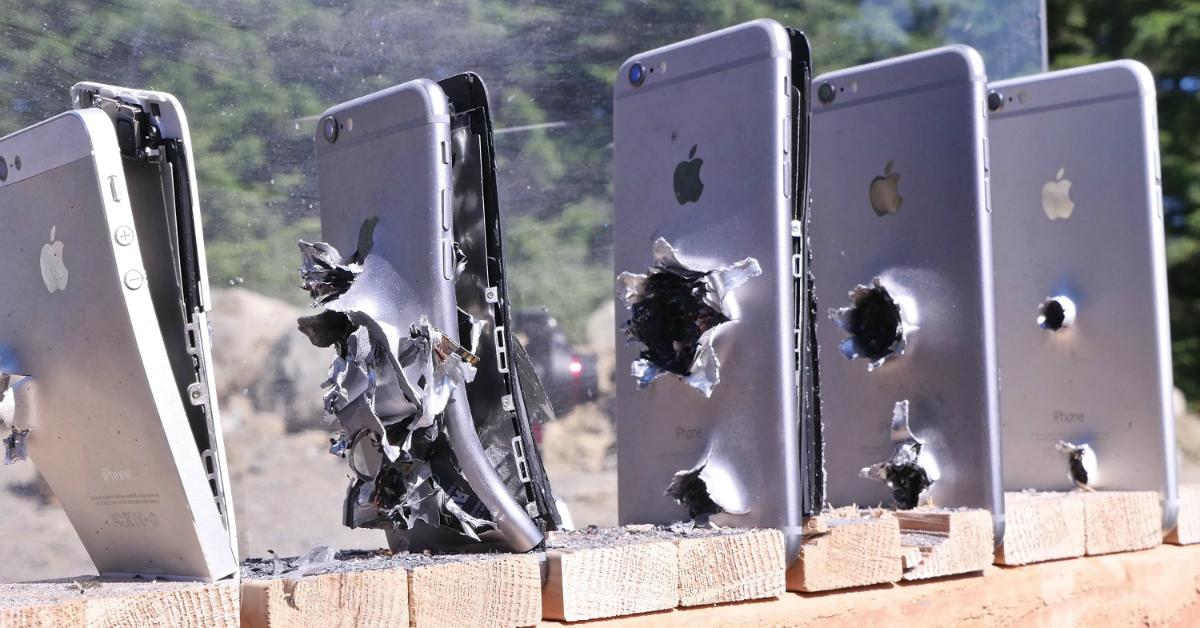 iPhone antiproiettile: salva la vita a studente coinvolto in una rapina