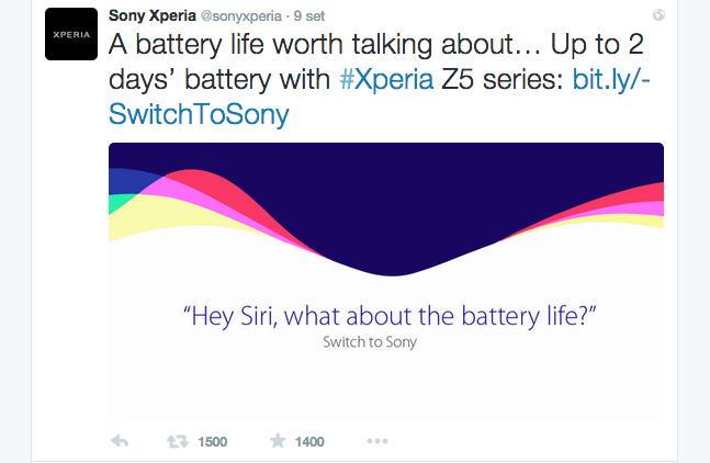 sony sbeffeggia durata batteria di iphone 6s