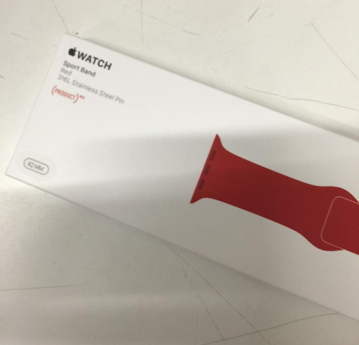 sport band product red 1200