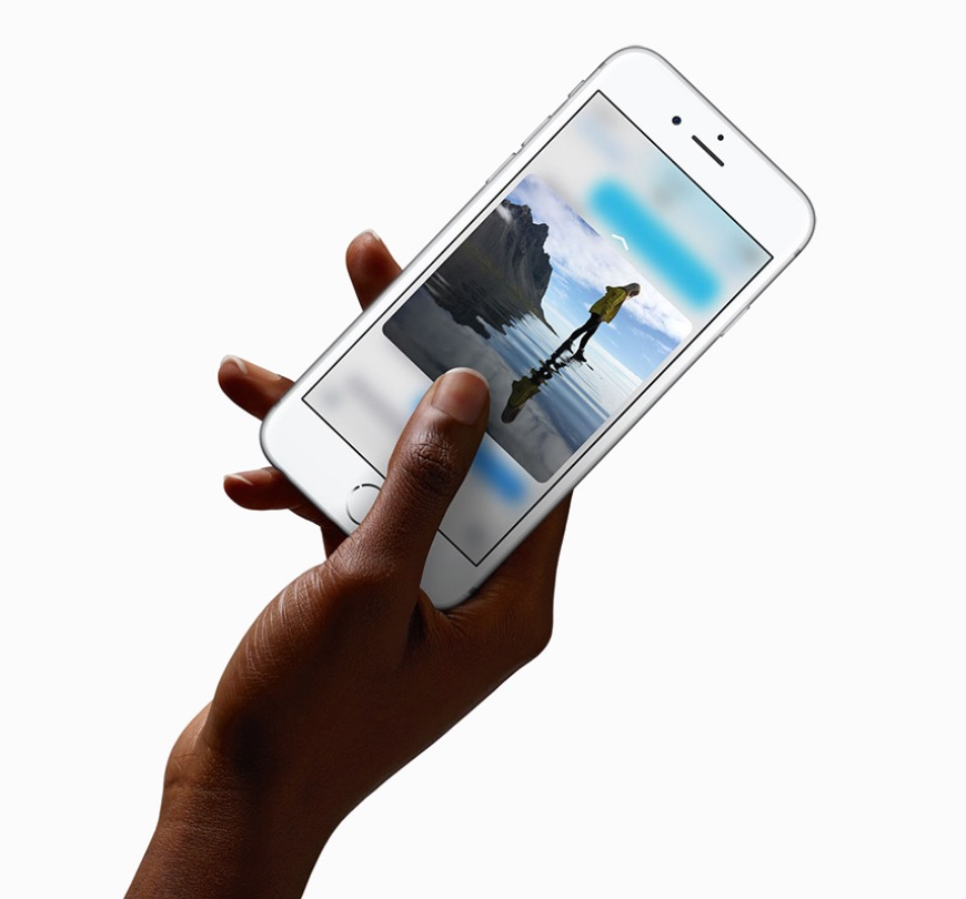 3D Touch di Apple