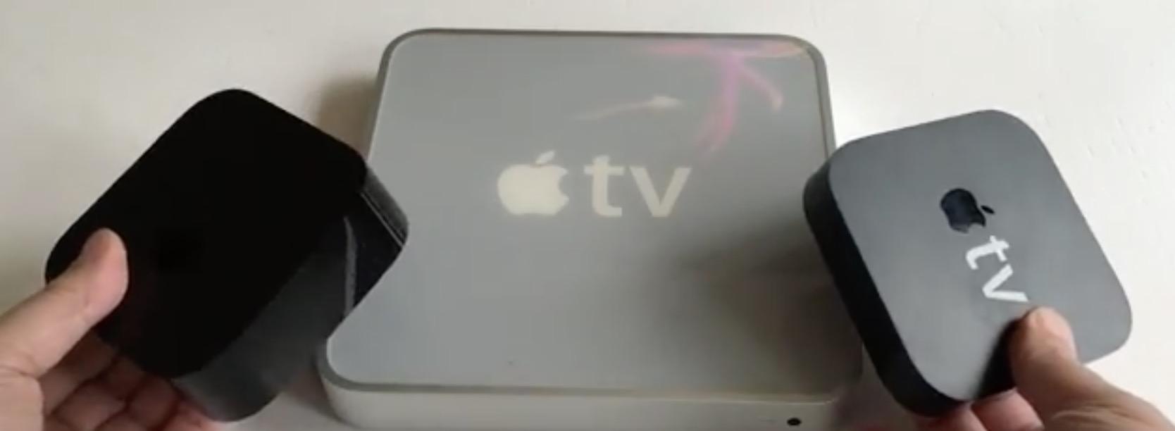 Confronto Apple TV 2015