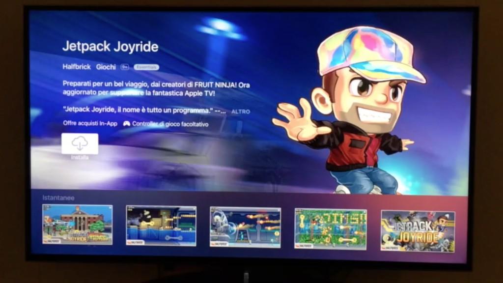 Interfaccia Apple TV 2015