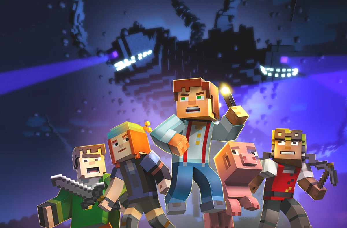 Minecraft Story Mode 1200 ok