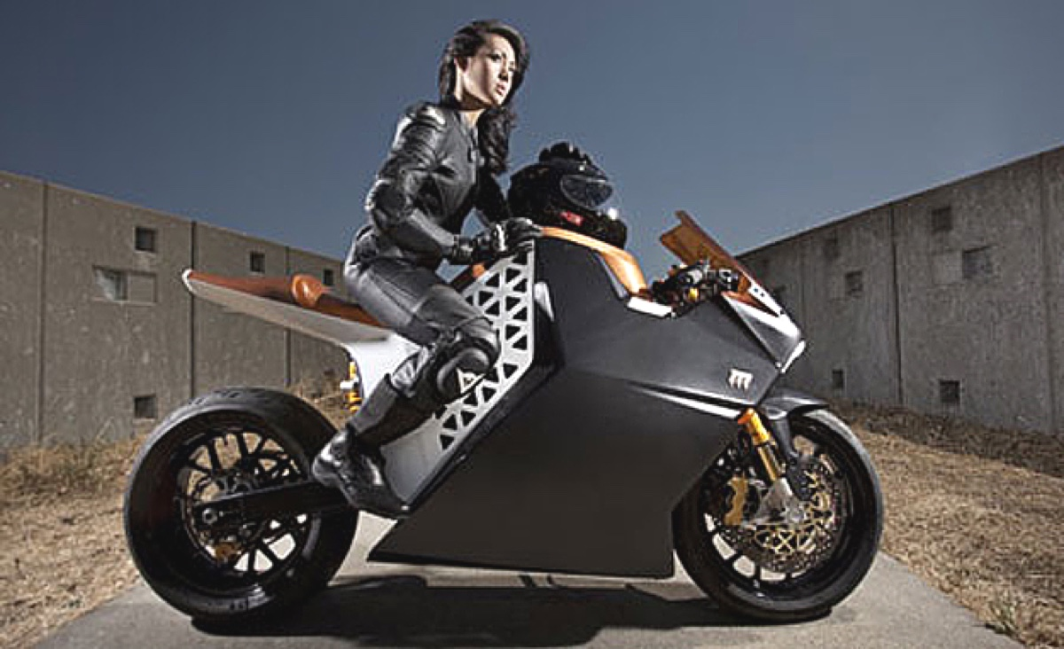 Mission Motors bike 1200