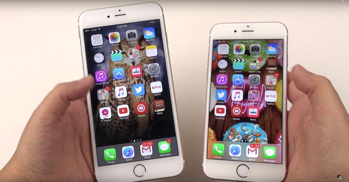 Prestazioni iPhone 6s icon 1200