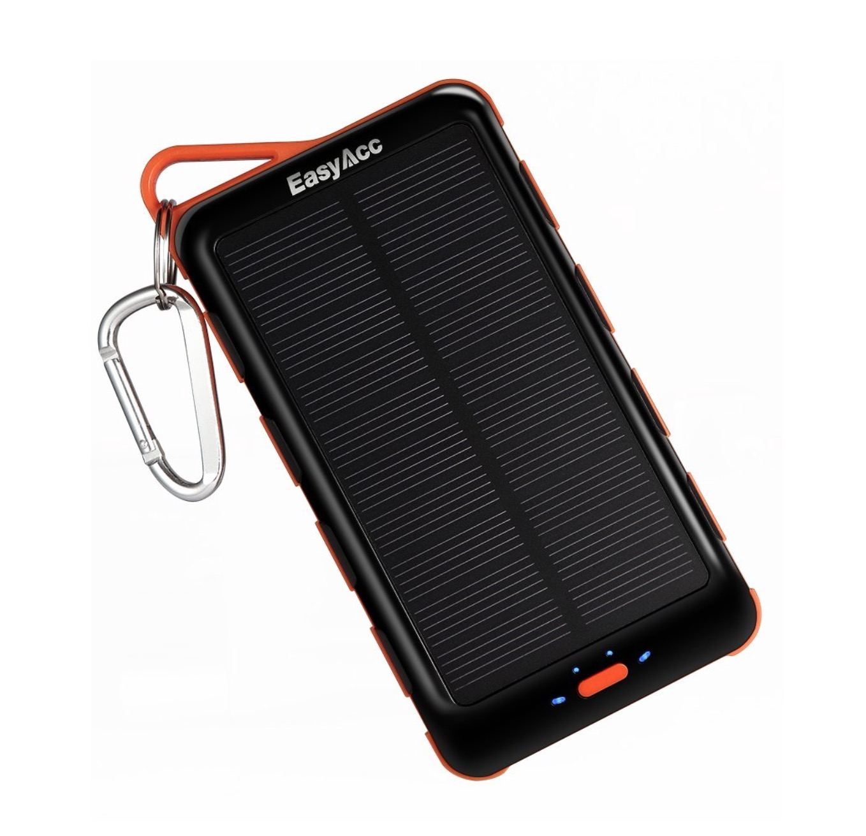 Batteria d'emergenza da 15.000 mAh con ricarica solare: solo oggi a 29,6€