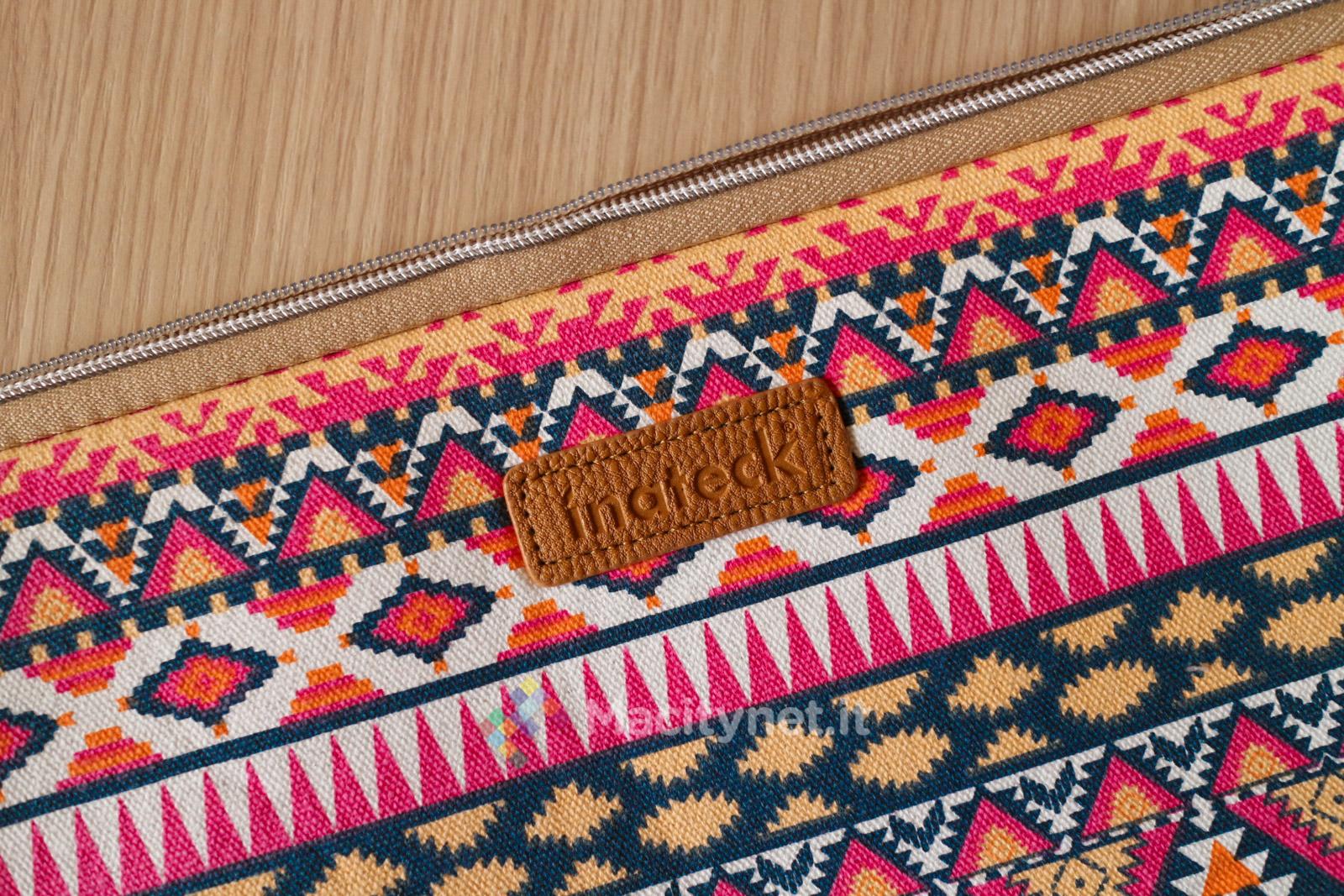 Recensione borsa inateck per computer 13 39 39 stile boh mien for Bagaglio a mano con custodia per laptop rimovibile
