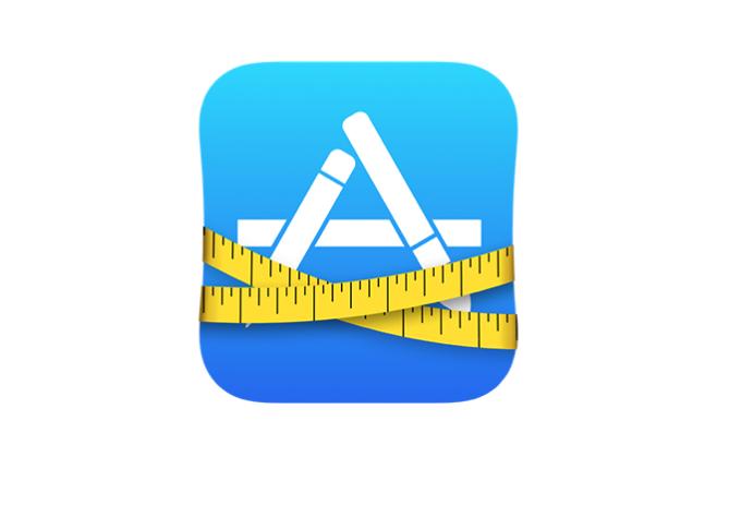 app thinning apple icon