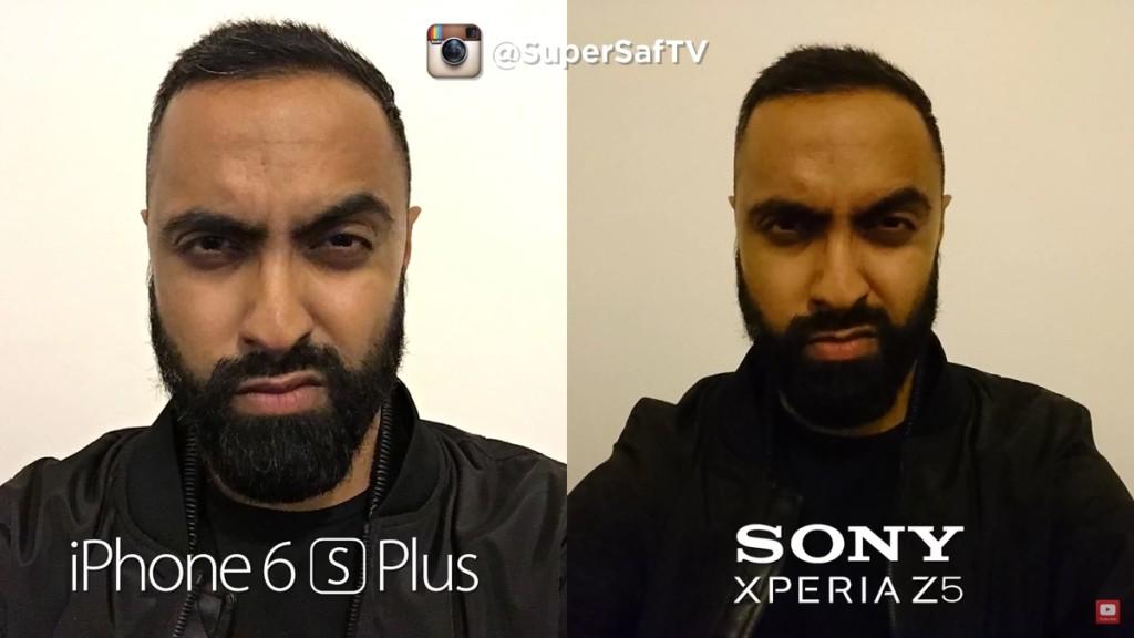 iPhone 6s Plus contro Sony Xperia Z5 1200
